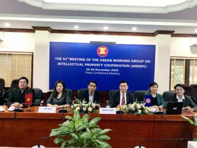 Việt Nam chủ trì Hội nghị trực tuyến Cuộc họp lần thứ 62 Nhóm công tác về Hợp tác Sở hữu trí tuệ các nước ASEAN (AWGIPC 62)
